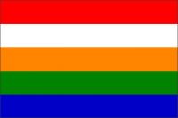 Personal Flag of Raja of Ali Rajpur